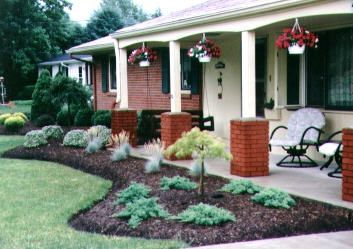 Landscaping ideas for ranchstyle homes GardenOutside
