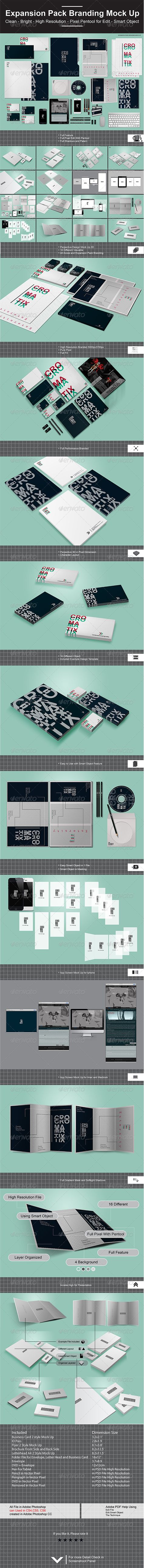 Expansion Pack Branding Mock Up