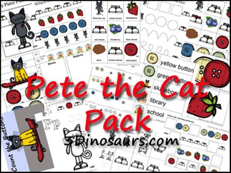 FREE Pete the Cat Pack.