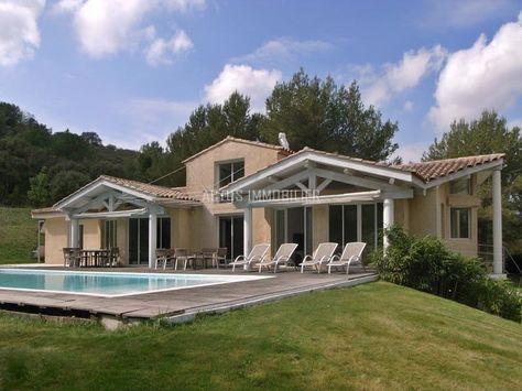 vente villa avec grand terrain à alleins (13980)