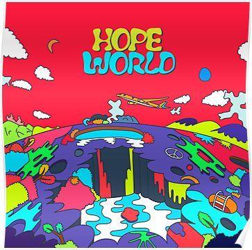 J-Hope Hope World Album Art Poster