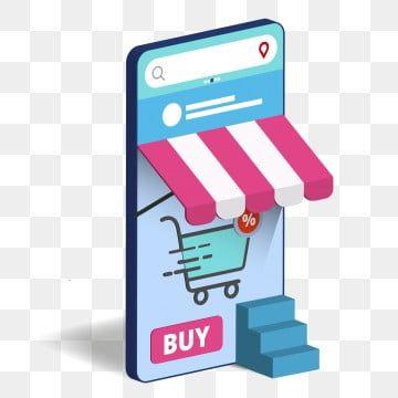 التسوق على الهاتف المحمول عبر الانترنت متجر التسوق Png والمتجهات للتحميل مجانا Business Icon Instagram Logo Logo Design Inspiration
