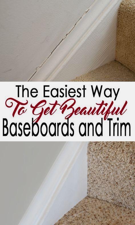 Repairing And Caulking Baseboards Like A Pro Diy Home Repair Baseboards Home Improvement Loans