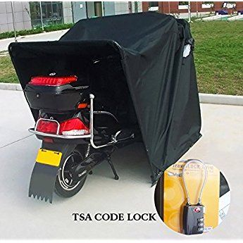 Heavy Duty Motorcycle Shelter Shed Cover Storage Garage Tent