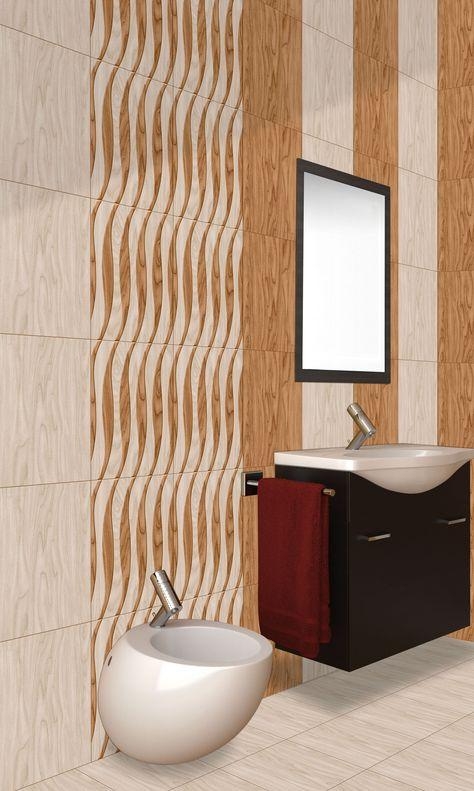 New Designs for Bathroom Tiles