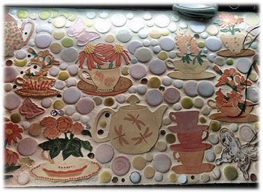 12 best custom tile images on Pinterest Tile mosaics Backsplash