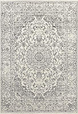 Amazon Com 3212 Distressed Silver 7 10x10 6 Area Rug Carpet Large New Kitchen Dining Rugs On Carpet Large Carpet Area Rugs