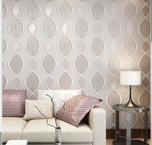 Moderno geometrico abstract stripe carta da parati 3d non tessuto ...