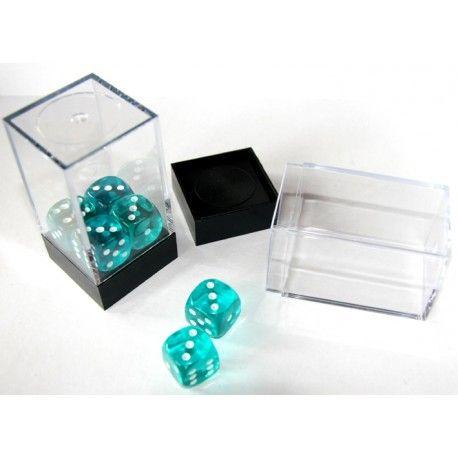Cube Mini Boite Rangement Des Et Pieces De Jeux Transparente Avec Socle Boite Plastique Accessoires De Jeu Boite Transparente