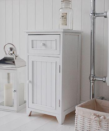 A Crisp White Freestanding Bathroom Storage Furniture A Narrow Bathroom Cabin Freestanding Bathroom Storage Narrow Bathroom Cabinet Bathroom Furniture Storage