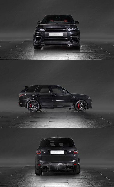 Gangster Suv Detected Black Range Rover Sport With Dark Smoke Headlights Range Rover Black Range Rover Supercharged Range Rover Sport