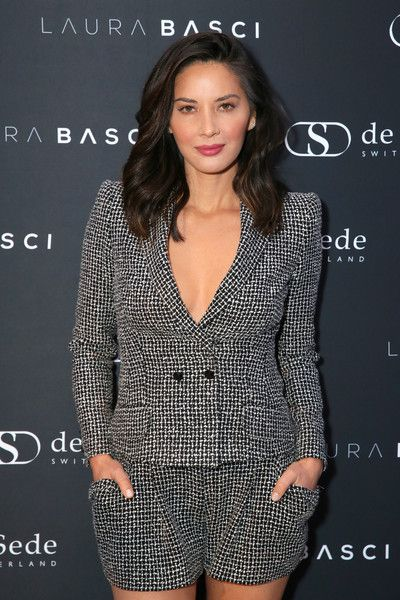 Actor Olivia Munn attends the Laura Basci and de Sede Los Angeles Showroom Opening.
