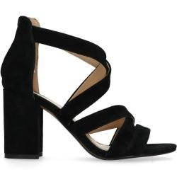 Black Heeled Sandals ManfieldManfield makeup products - makeup products for beginne
