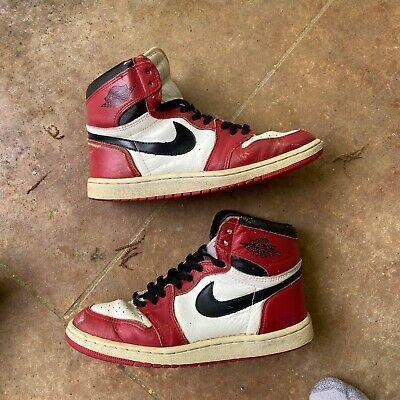 Ebay Sponsored 1985 Og Air Jordan 1 Size 8 5 In 2020 Air Jordans Air Jordans Retro Vintage Nike