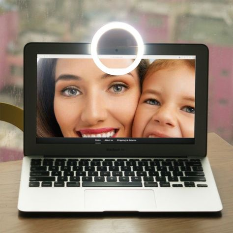 AWESOME Selfie Photo Shoot LED Light - is a gift for you and your ...