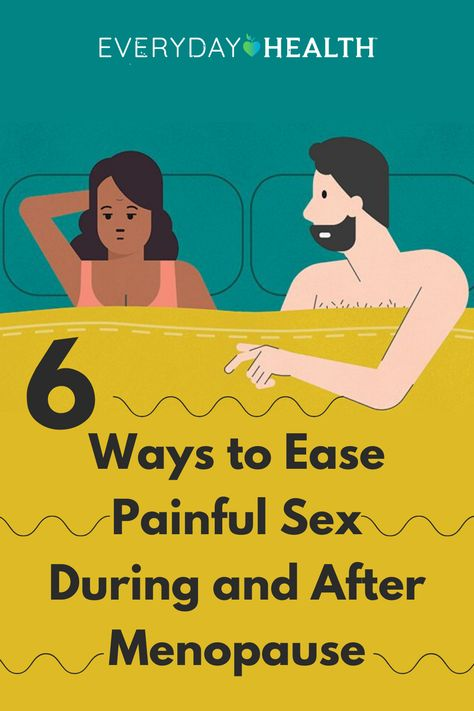 Painful sex can be common after menopause. Learn how to ease the pain.