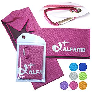 Cooling Towel Scarf For Instant Hot Flash Relief