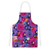 Found it at Wayfair - Find the Tiger by Akwaflorell Purple Artistic Apron