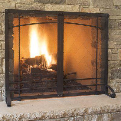 Easton Prairie Cabinet Steel Fireplace Doors Fireplace Screens