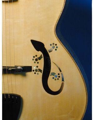 Art Gecko Archtop Guitar Archtop Guitar Guitar Custom Bass Guitar