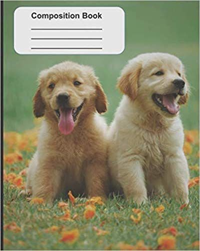 Puppies Composition Book Puppies Cute Animal Videos