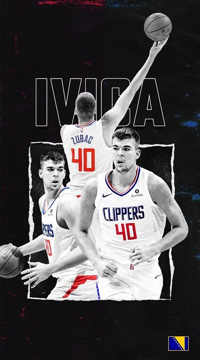 Ivica Zubac Nba Players Los Angeles Clippers Nba Basketball