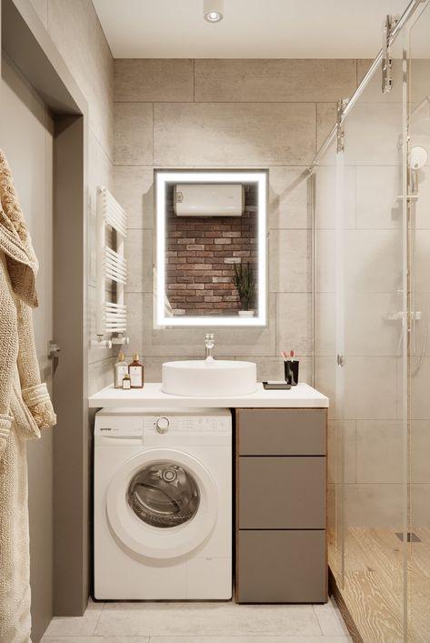 Bagno Piccolo Con Lavatrice.Come Nascondere Una Lavatrice In Bagno Guida Con Foto