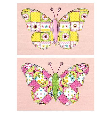 Butterfly Cards Paper Quilt Creations PQCGC116