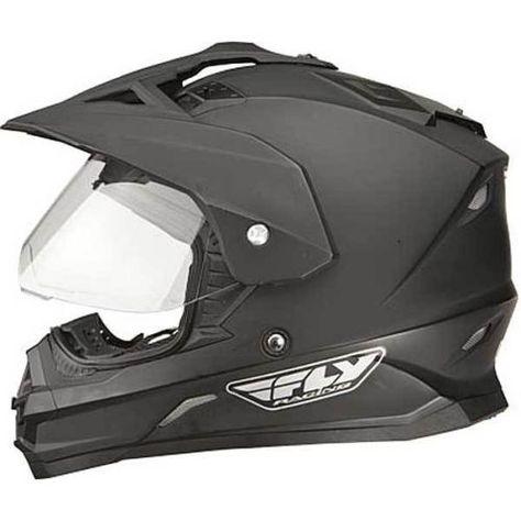 THH TX27 DUAL SPORT ADULT GLOSS BLACK ENDURO MOTORCYCLE MOTO-X OFFROAD HELMET