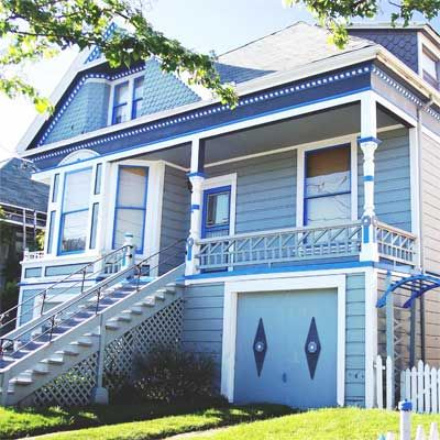 Editorsu0027 Picks: Our Favorite Blue Houses | Alameda California, House  And Exterior Colors