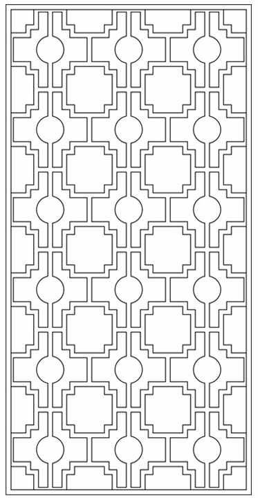 Design Library Tableaux Decorative Grilles For Residential Design Geometric Coloring Pages Stained Glass Patterns Free Border Embroidery Designs