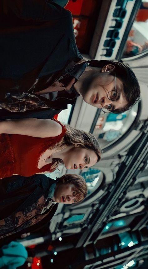 Harry Potter Golden Trio