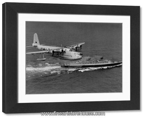 Print of Flying Boat