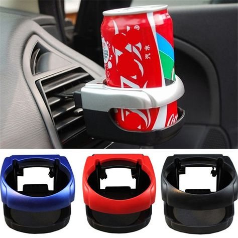 1x Car Auto Drink Cup Holder Air Vent Clip-on Mount Water Bottle Stand Universal