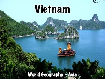 Vietnam PresentationIncludes:Geography/overview: 7 slidesFlag: 1 slideHistory: 12 slidesNotable people: 1 slideGovernment: 4 slidesEconomy: 2 slidesCulture: 4 slidesMiscellaneous info: 2 slidesThis presentation can be used with the free