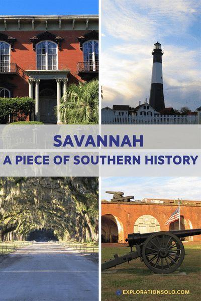 Exploring Savannah As A Solo Traveler Savannah Chat Travel Travel Usa