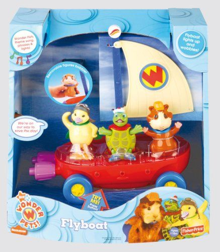 Fisher Price Wonder Pets Fly Boat From Fisher Price Wonder Pets