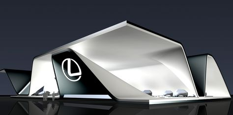 LEXUS Exhibit Concept on Behance