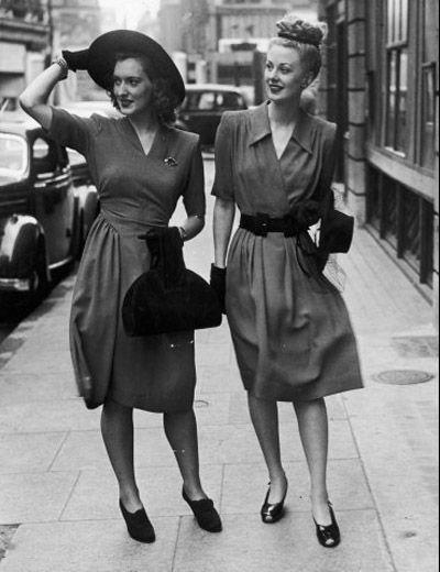 Mens Fashions 1940s on Fashion   Beauty   Articlesphoto Gallery Fashionism Decade Fashion