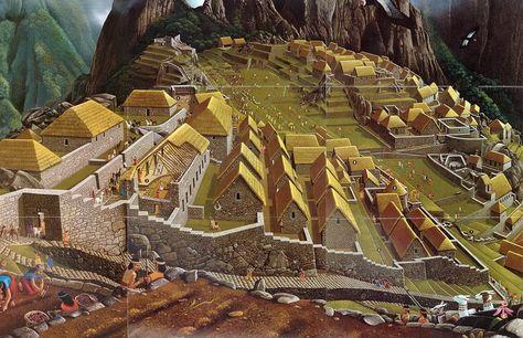 Inca City Reconstrucion