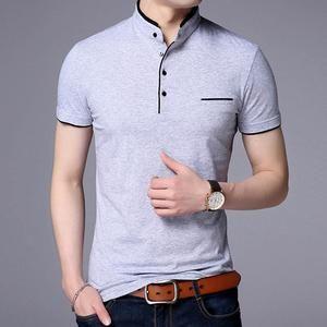 Mens Designer Pierre Cardin Plain Design V Neck T Shirt Cotton Top Size S-XXXXL