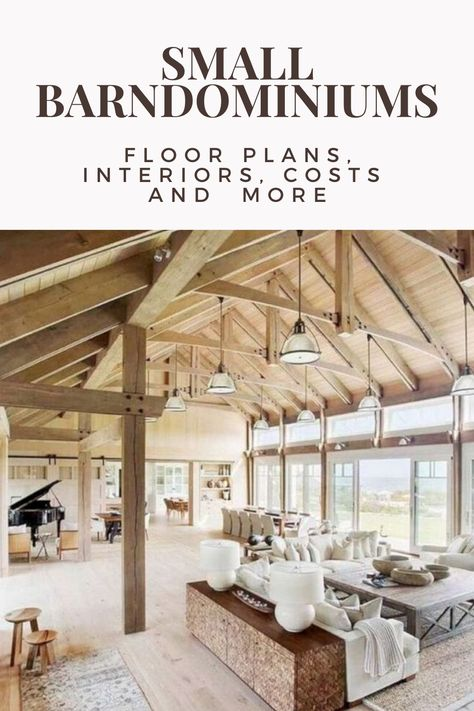 Interested in a small barndominium, and don't need the space some of the more massive ones provide? Come learn about the benefits of a small barndominium. Barn Homes Floor Plans, Metal Barn Homes, Barndominium Floor Plans, Pole Barn House Plans, Pole Barn Homes, Small House Plans, Barn Style Homes, Building A Small House, Barn Home Plans