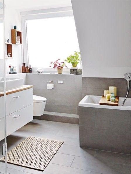 Badezimmerumstyling Traumbad für die ganze Familie Familien - badezimmer hell grauer boden