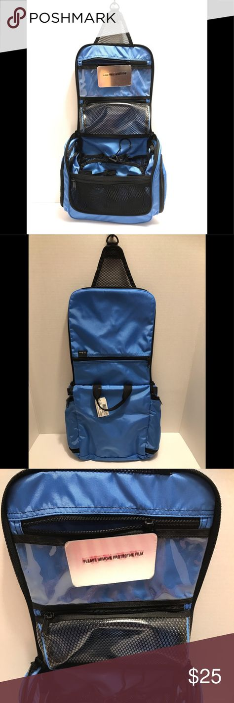 Ll Bean Medium Toiletry Bag Personal Organizer New With Tags Nautical Blue Hanging Toiletry Bag Very Roomy Lots Of Storage L L Bea Toiletry Bag Bags Personal Organizer