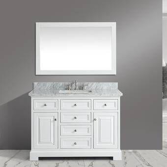 Kbc Zelda 60 Single Bathroom Vanity Set Reviews Wayfair Single Bathroom Vanity Bathroom Vanity Classic Bathroom Furniture