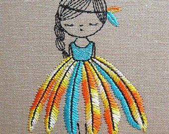 Machine embroidery designs ElenMarie by ElenMari on Etsy
