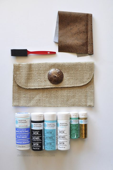 BYP-1734 Byhands Two for One Wallet DIY Kit