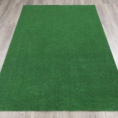 Ottomanson Garden Grass Green Turf Wayfair In 2020 Artificial Grass Patio Grass Carpet Artificial Turf