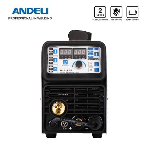 Andeli Portable Intelligent Co2 Mig Welder Mig 250