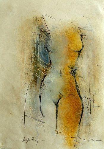 Risultati Immagini Per Angela Fusenig Abstrakte Malerei Malerei